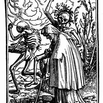 Holbein - Danse Macabre  by BestPaintings