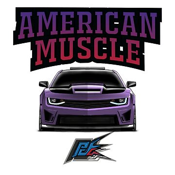 chevrolet camaro ss purple  by naquash