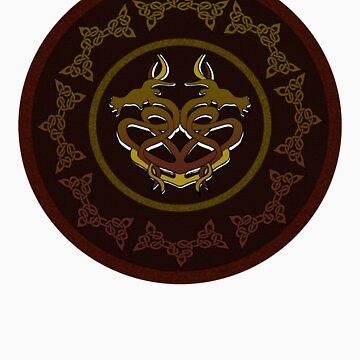 Celtic Dragon by kathrynmp