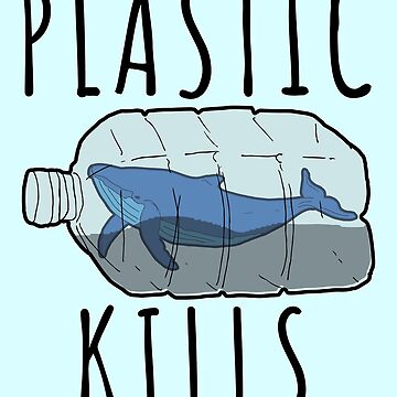 Plastic Kills - Save The Whales by banwa