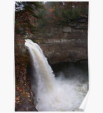Desoto Falls, Mentone, Alabama Poster