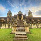 Inside Ankhor Wat by Peter Doré
