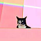 Bubblegum & Cat by bunhuggerdesign