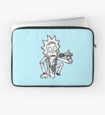 Rick Sanchez from Rick and Morty™ Getting Schwifty Laptop Sleeve