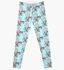 Rick Sanchez from Rick and Morty™ Getting Schwifty Leggings