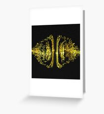 "Fractal ""Safety Net"" Greeting Card"