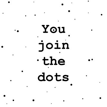 You join the dots design by GetItGiftIt