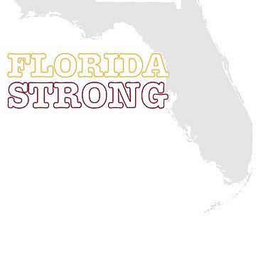 Florida Strong Hurricane Michael 2018 T Shirt by ravishdesigns