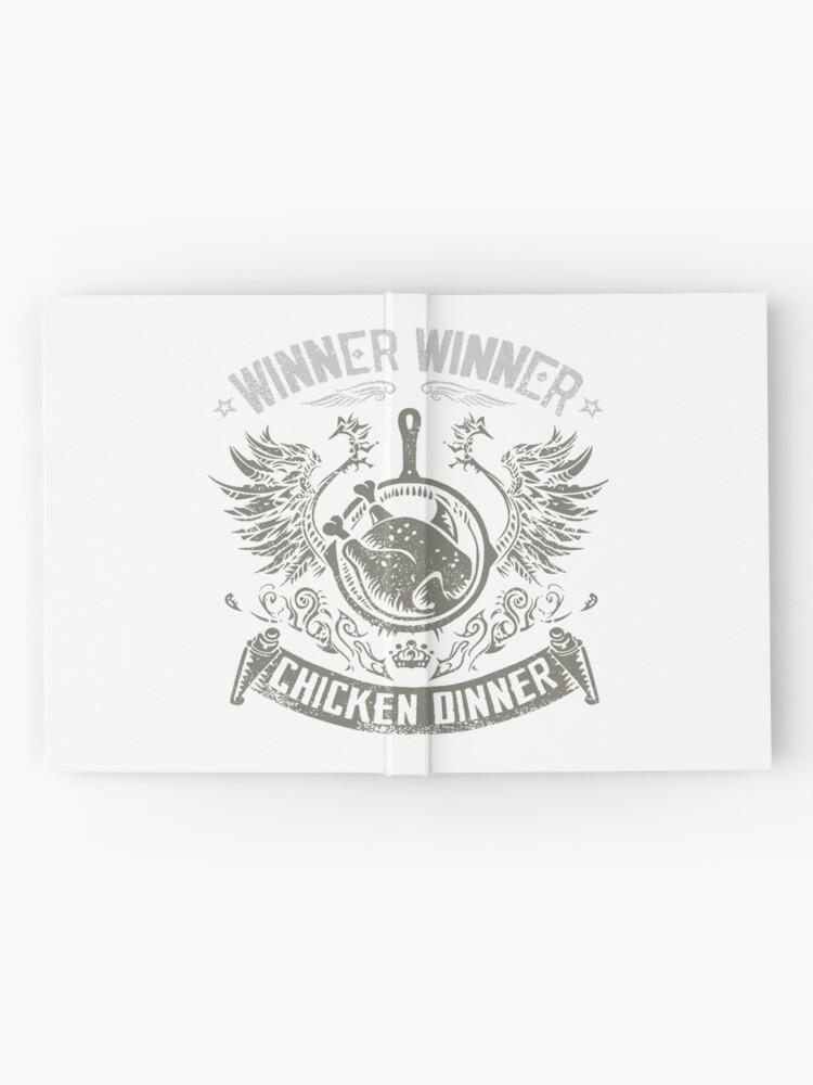 Alternative Ansicht von Gewinner Gewinner Spiel Notizbuch