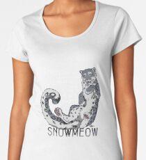 Always be snow leopard Women's Premium T-Shirt
