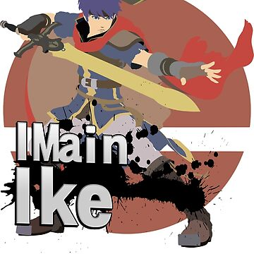 I Main Ike - Super Smash Bros. Ultimate by PrincessCatanna