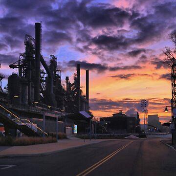 Sunrise At Steelstacks by djphoto