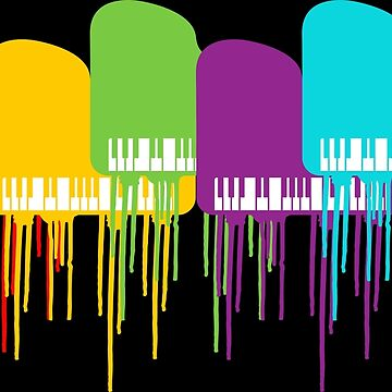 Colorful piano | Musical Instrument Piano Pianist by anziehend