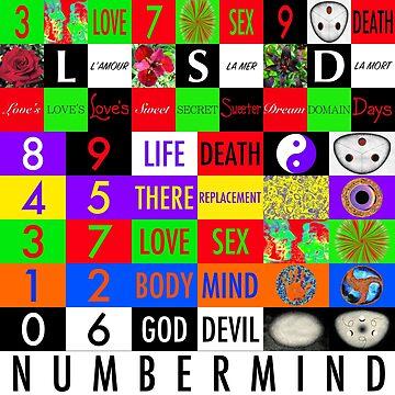 NUMBERMIND + LSD by dcartist333