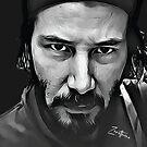 Keanu Reeves portrait by Zero81