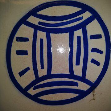 #circle #znamensk #text #logo sign label colorimage typescript oldfashioned retrostyle by znamenski