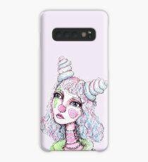 Sad Clown Girl Case/Skin for Samsung Galaxy