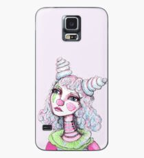 Sad Clown Girl Case/Skin for Samsung Galaxy