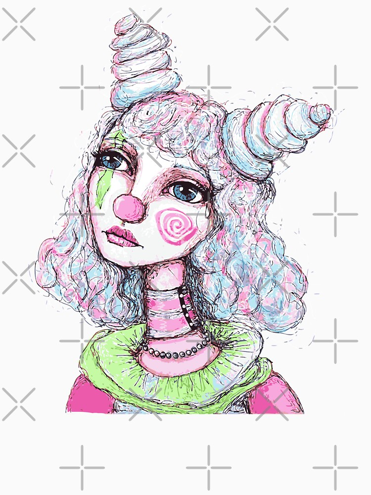 Sad Clown Girl by LittleMissTyne