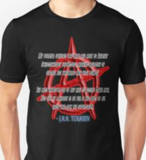 ANARCHY, Anarchist, J. R. R. Tolkien, My political opinions lean more and more to Anarchy Slim Fit T-Shirt