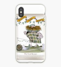 Celtic Goalkeeper iPhone Case
