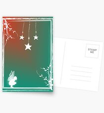 Wishes for Christmas Postcards