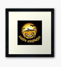 Happy Halloween! Gerahmtes Wandbild