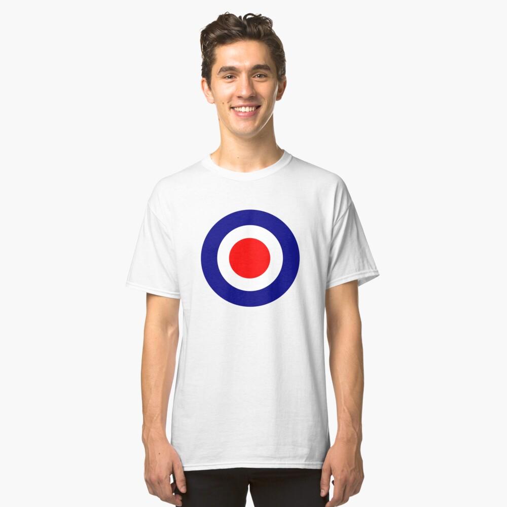 Mod Target  Classic T-Shirt Front