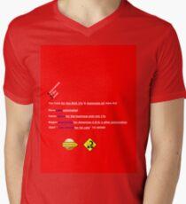 Tax Cuts & Jobs Act Men's V-Neck T-Shirt