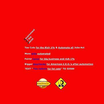 Tax Cuts & Jobs Act by ID-Oro