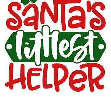 Santa's Little Helper Christmas by fermo