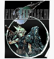 Sephiroth Fire Posters Redbubble