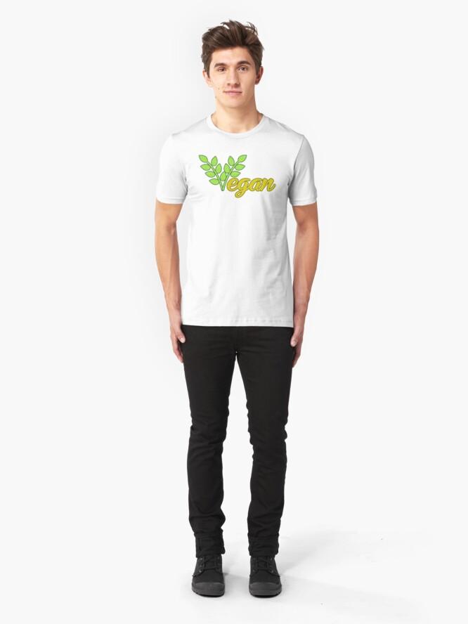 Alternate view of Vegan Slim Fit T-Shirt