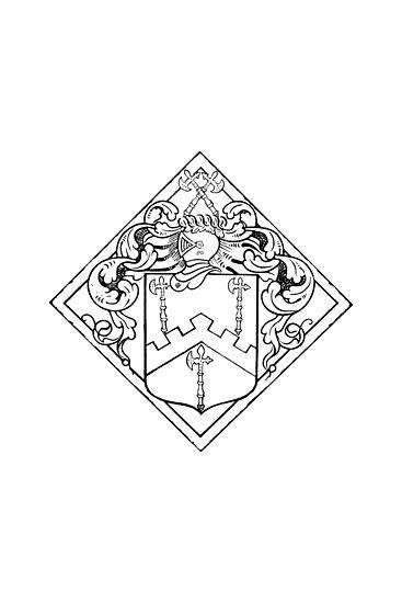 Family Crest 1 by Irina Chuckowree