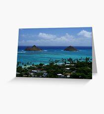 Oasis on Oahu Greeting Card