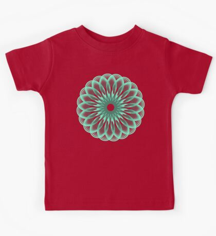 Spirograph in seagreen Kids Clothes