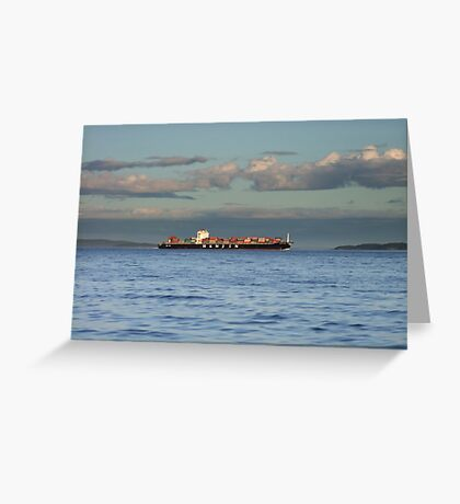 Evening Departure Greeting Card