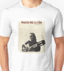 Paco de Lucia (flamenco part 1) Unisex T-Shirt
