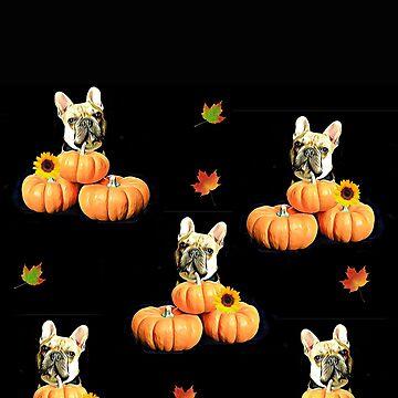 Thanksgiving French bulldog  by ritmoboxers