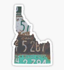Vintage Idaho-Kfz-Kennzeichen Sticker