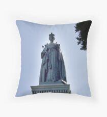 Victoria Regina Throw Pillow