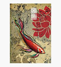 The Lucky Fish- Mixed Media Photographic Print