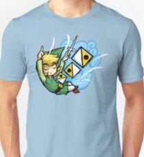 Zelda Wind Waker Wind's Requiem  T-Shirt