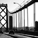 San Francisco Bay Bridge #2 by pat gamwell
