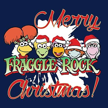 Fraggle Rock Fraggles Festive Season Merry Christmas Greetings Muppets by neonfuture