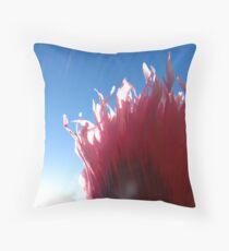 feathery zephyr Throw Pillow