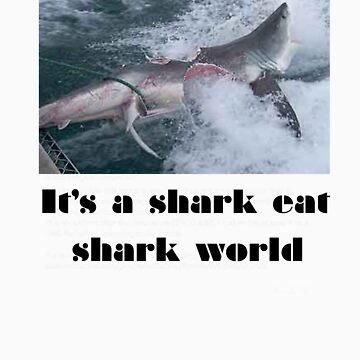 Shark eat shark  by DaisyLuluLola
