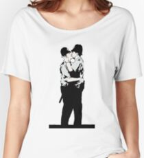 Kissing Coppers Women's Relaxed Fit T-Shirt
