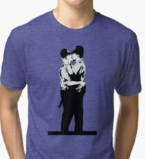 Kissing Coppers Tri-blend T-Shirt