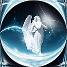 Christmas Dreams Angel by Marie Sharp